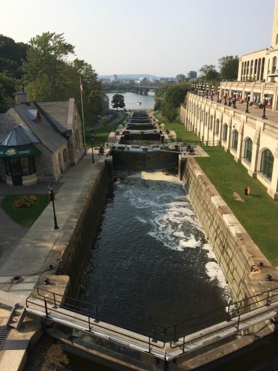 Les écluses du canal Rideau