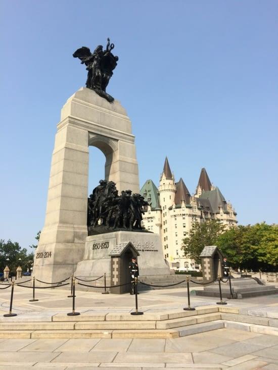 Monument commémoratif de guerre du Canada
