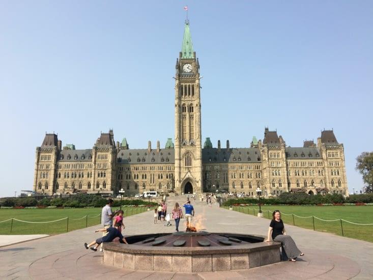 Parlement du Canada - L'Édifice du Centre