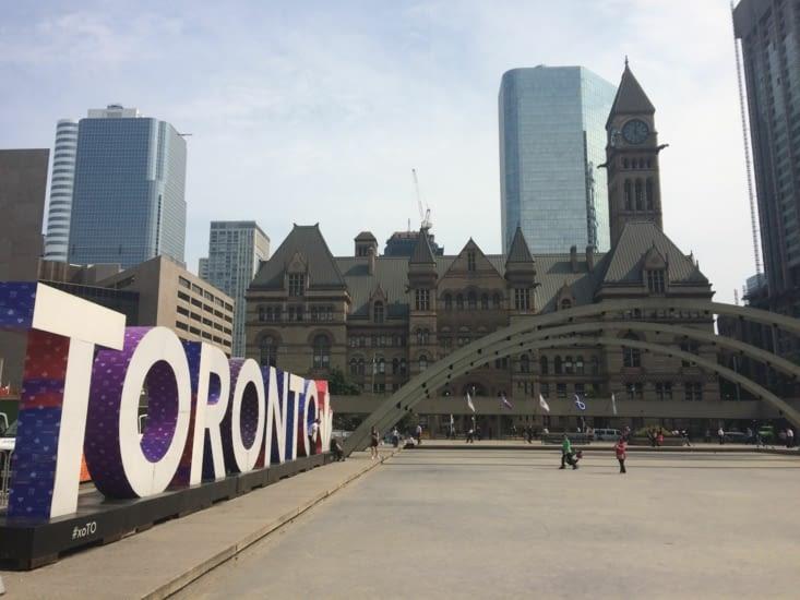 L'ancien hôtel de ville de Toronto