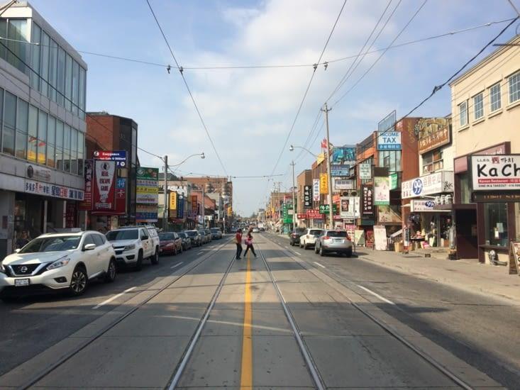 Le quartier chinois de Toronto