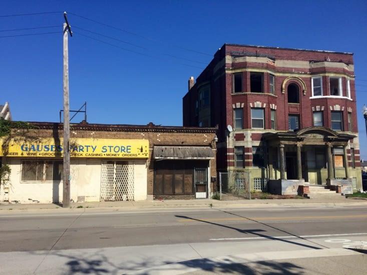 Bâtiments abandonnés - Détroit