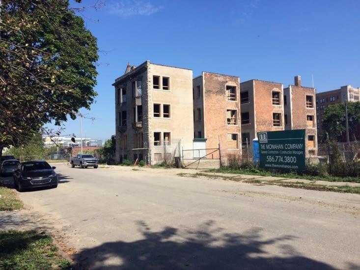 Immeuble abandonné - Détroit