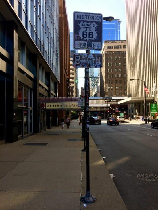Point de départ de la célèbre route 66