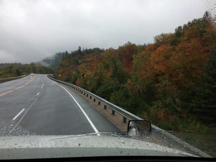 Les magnifiques couleurs de l'Ontario, au début de l'automne