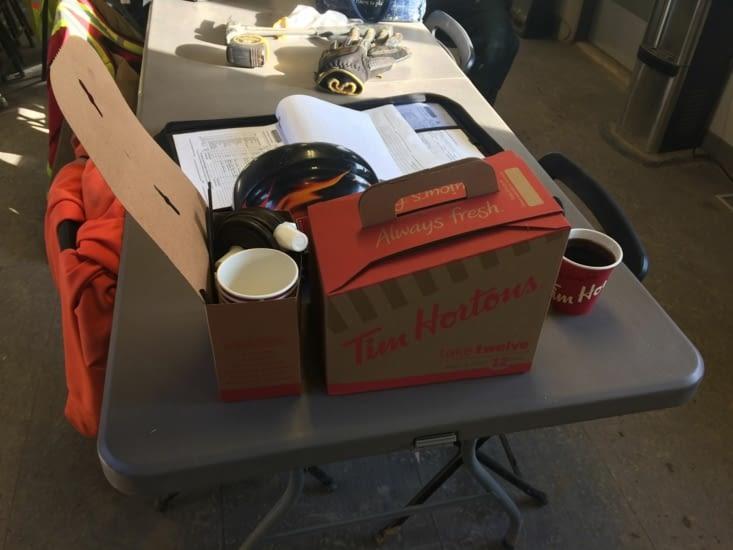 Un cubi de café Tim Hortons, la base !
