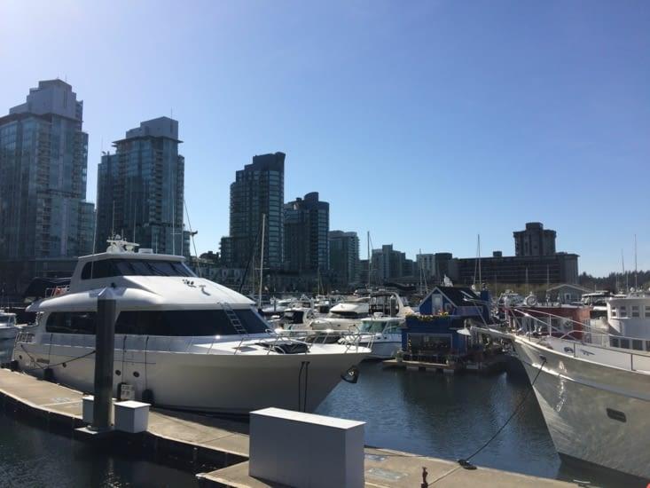 Port de plaisance de Vancouver