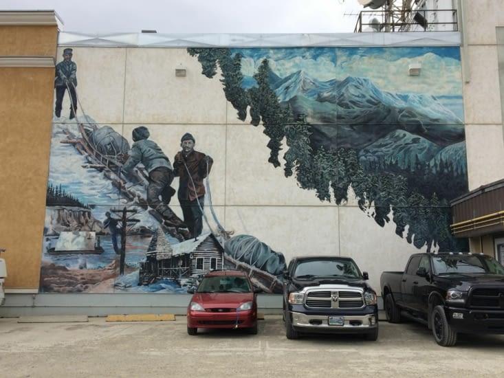 Peinture murale, Whitehorse
