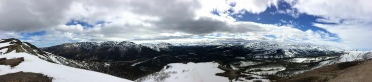 Denali National Park, vu depuis le Mont Healy