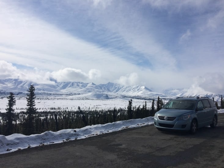 Glacier View, Glenn Highway