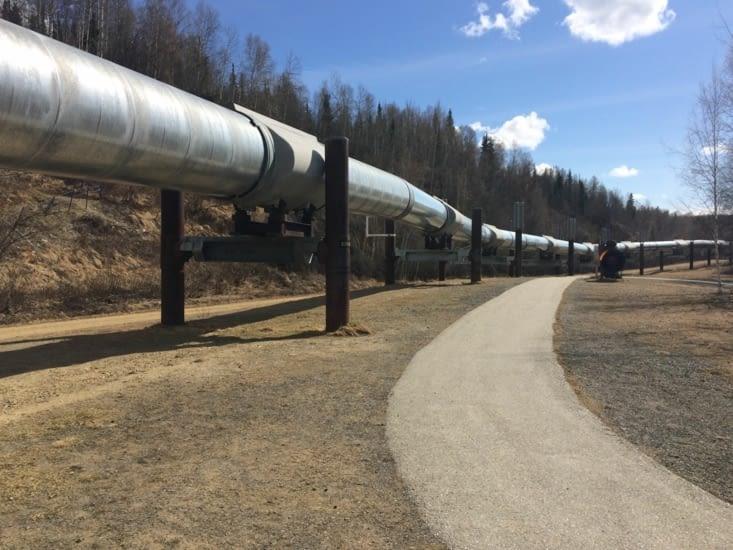 L'oléoduc trans-Alaska