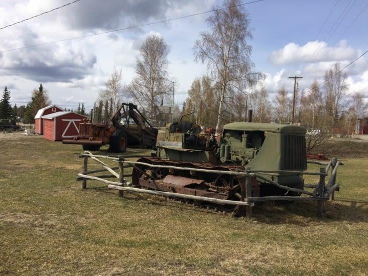 Machines ayant servi à la construction de l'Alaska Highway