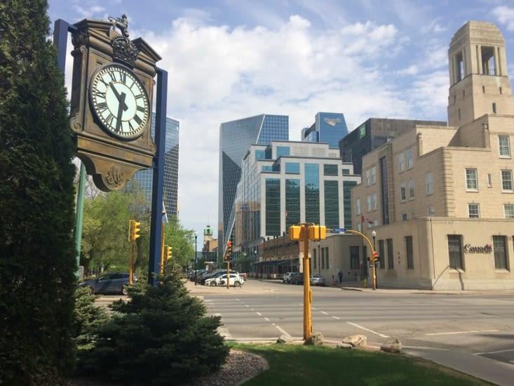 Centre-ville de Regina