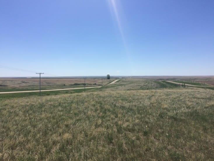 Les prairies du sud de la Saskatchewan