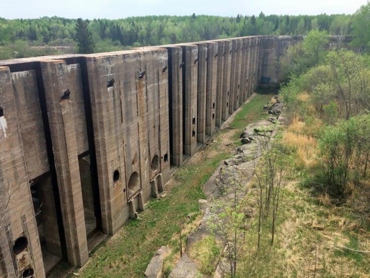 L'entrée des turbines