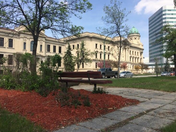 Palais de justice de Winnipeg