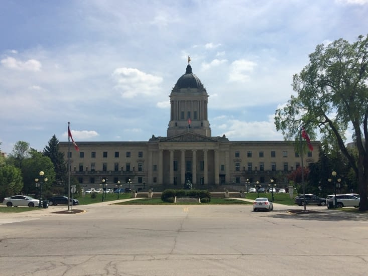 Palais législatif du Manitoba