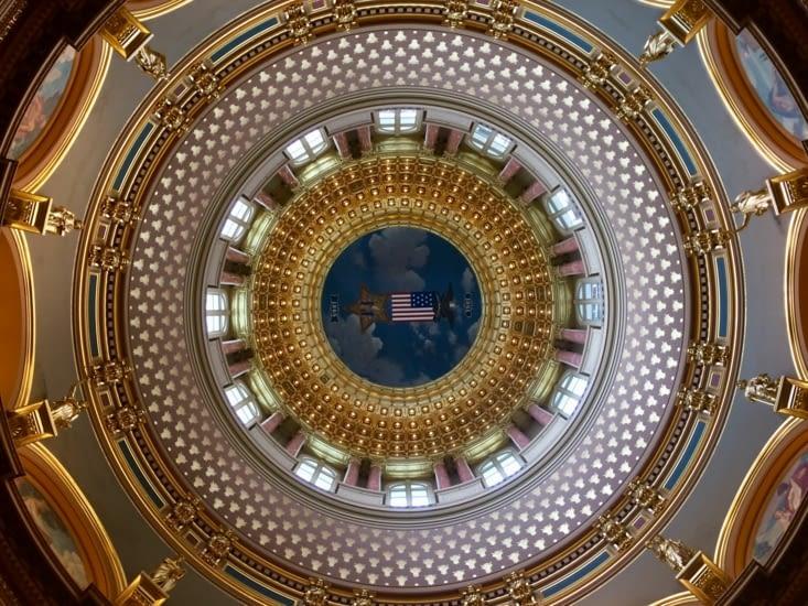 Dôme du Capitole de l'Iowa