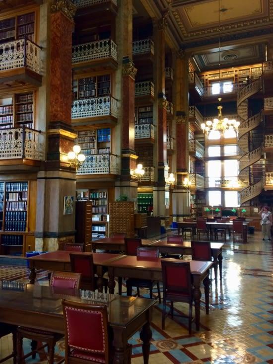 La bibliothèque du Capitole de l'Iowa