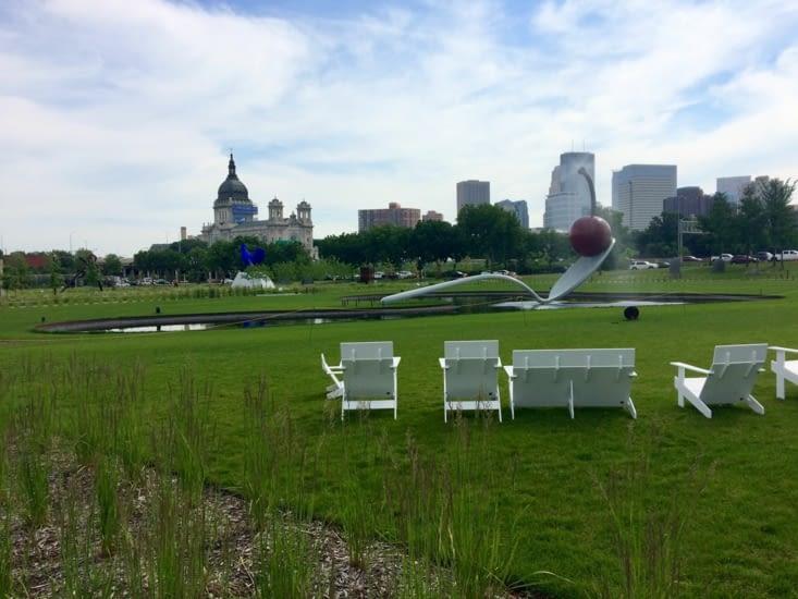 Jardin de sculptures de Minneapolis