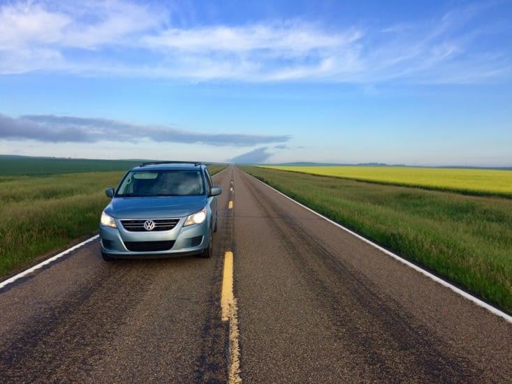 Les plaines du Dakota du Nord