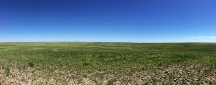 Les prairies du Dakota du Sud