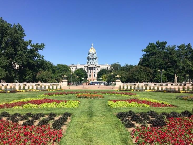 Capitole vu depuis le parc Civic Center