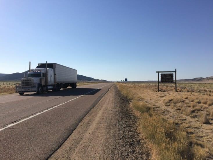 Entrée dans l'État du Colorado