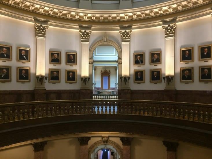La galerie des Présidents