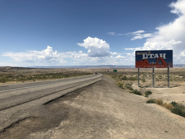 Retour en Utah