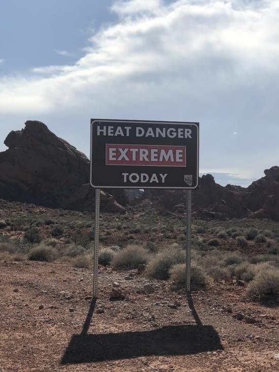 « Danger de chaleur extrême aujourd'hui »