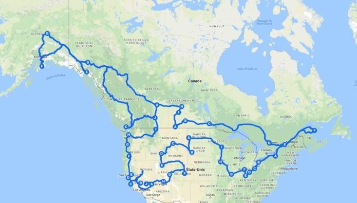 Route du road trip