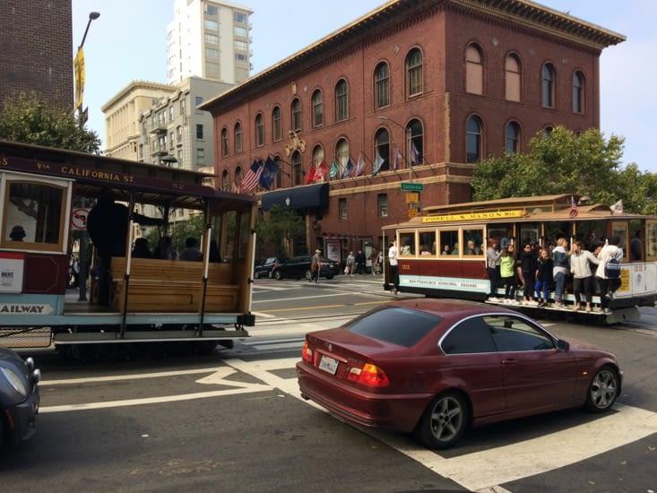 Cable car de San Francisco