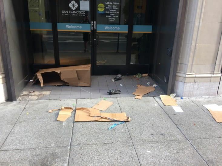 La saleté à San Francisco