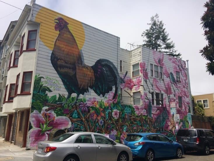 Peinture murale à San Francisco