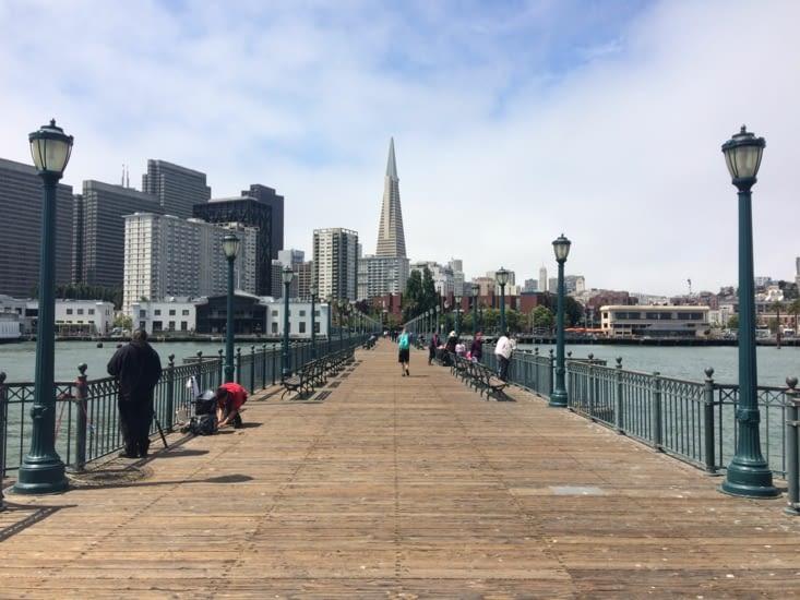 San Francisco depuis la jetée n°7
