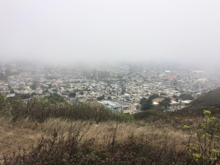 Vue depuis Twin Peaks