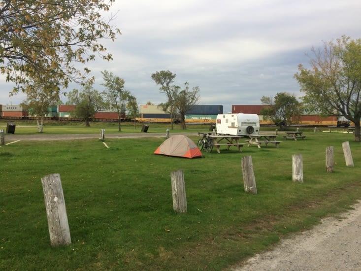 Au top les campings canadiens !