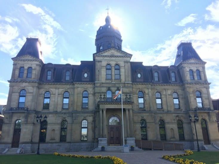 Édifice de l'Assemblée législative du Nouveau-Brunswick