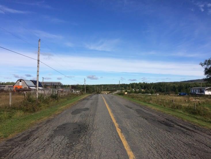 La campagne du Nouveau-Brunswick