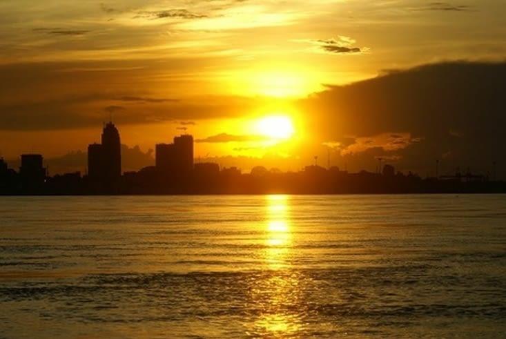 Coucher de soleil Kinshasa