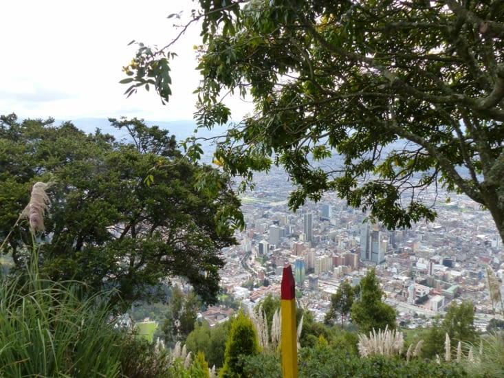 Bogota vue du Montserrate