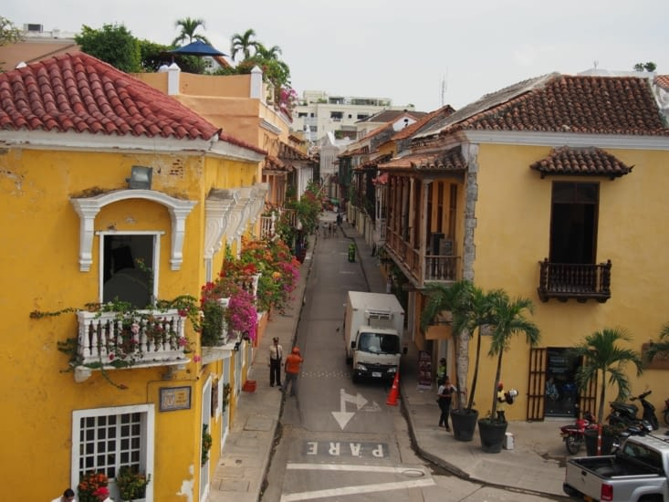 Cartagena en couleur