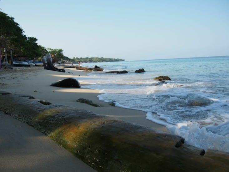 Reveil sur la plage