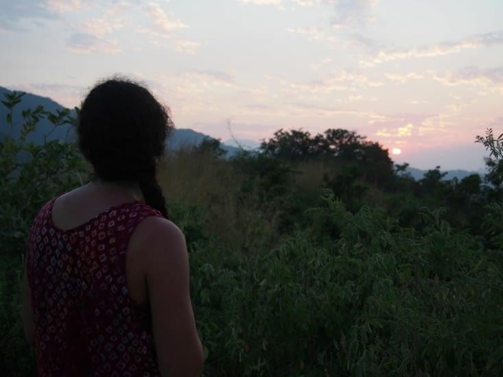 Coucher de soleil au Mirador de Santa Marta