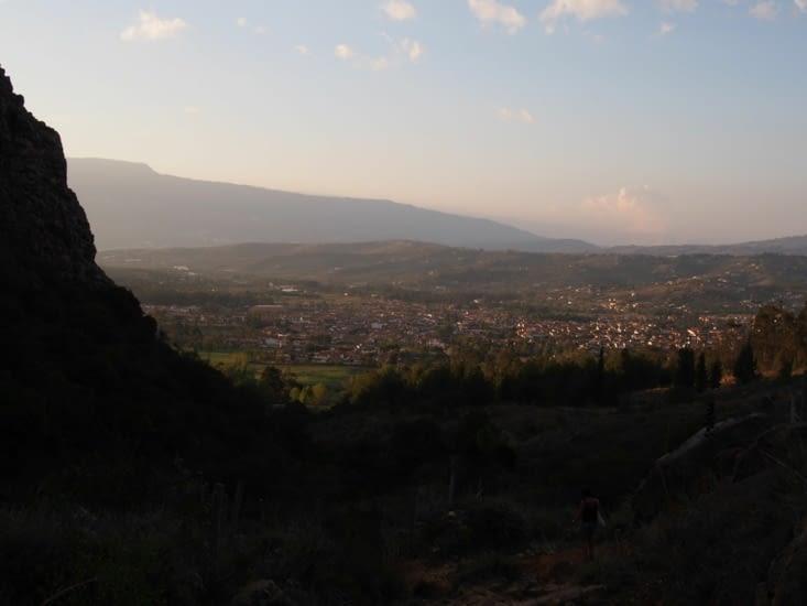 Coucher de soleil sur Villa de Leyva