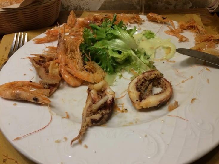 😵😅 Commande a l'arrache = poulpe 🐙 frit