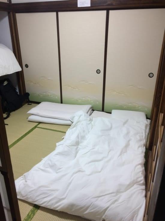 Keys hotel: nos futons