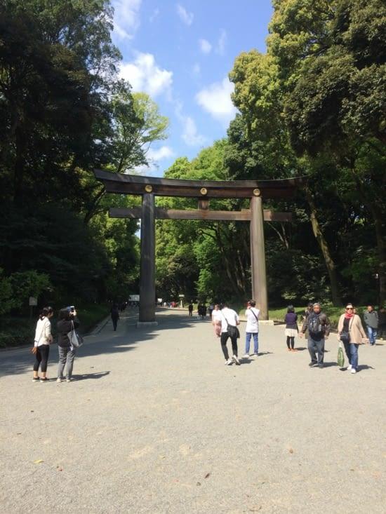 Meji- Jingu entrée