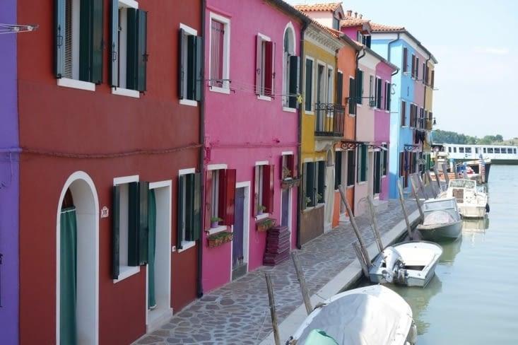 Burano : coloré comme Po aime